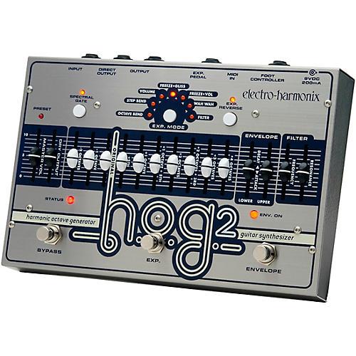 Open Box Electro-Harmonix HOG 2 Harmonic Octave Generator Guitar Effects Pedal