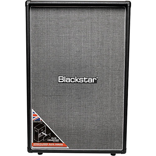 Open Box Blackstar HT212VOC MKII 160W 2x12 Vertical Guitar Speaker Cabinet