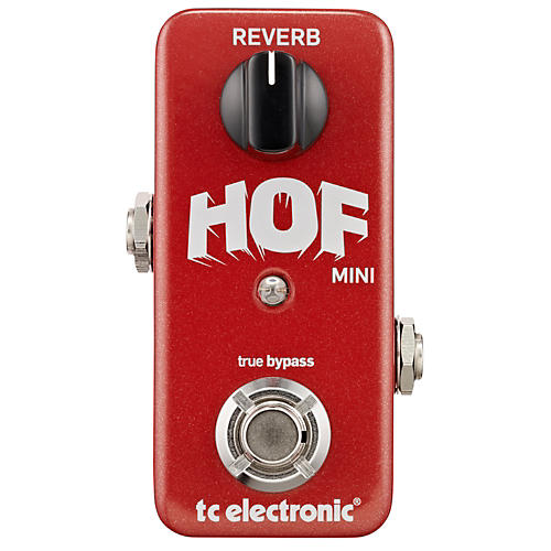 Open Box TC Electronic Hall Of Fame Mini Reverb Guitar Effects Pedal