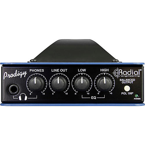 Open Box Radial Engineering Headload Prodigy Combination Load Box and DI 8 Ohm