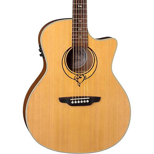 Open Box Luna Guitars Heartsong Grand Concert Acoustic-Electric Guitar