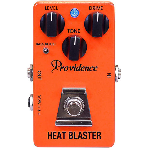 Open Box Providence Heat Blaster Distortion Effects Pedal