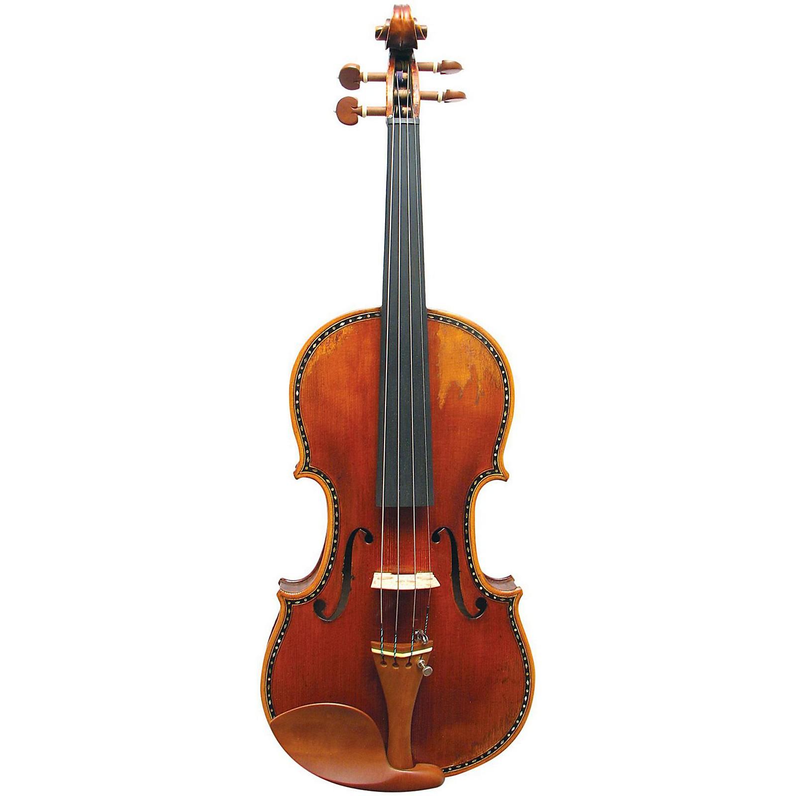 Open Box Maple Leaf Strings Hellier Stradivarius Craftsman Collection Violin