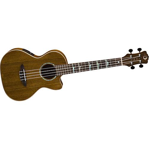Open Box Luna Guitars High-Tide Ovangkol Tenor Ukulele