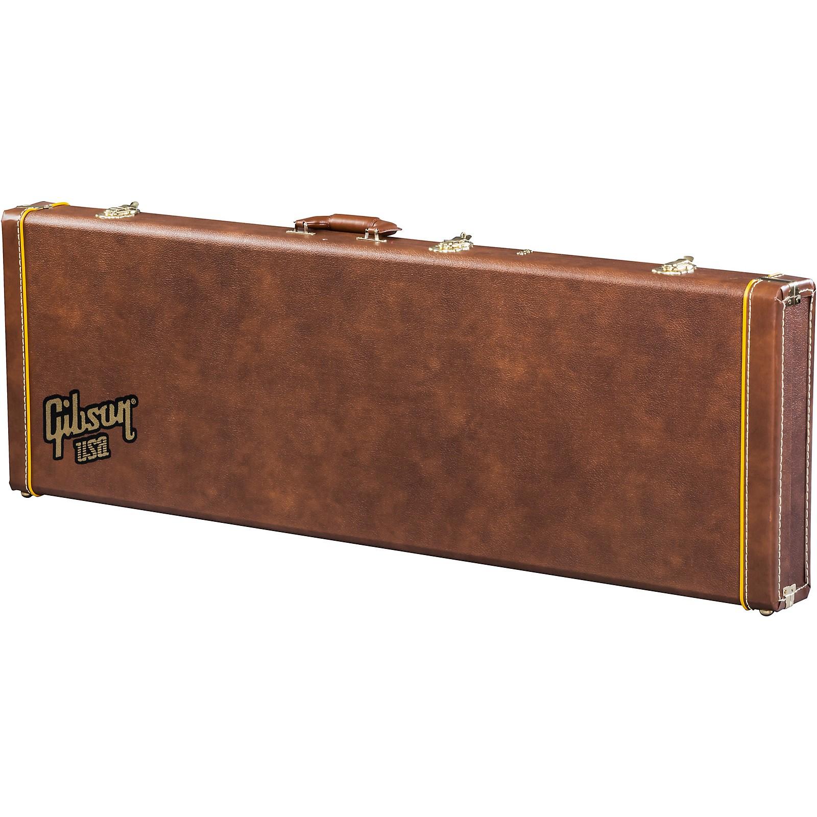 Open Box Gibson Historic Brown V Bass Case