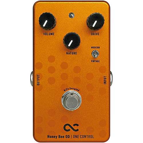 Open Box One Control Honey Bee Overdrive Effects Pedal