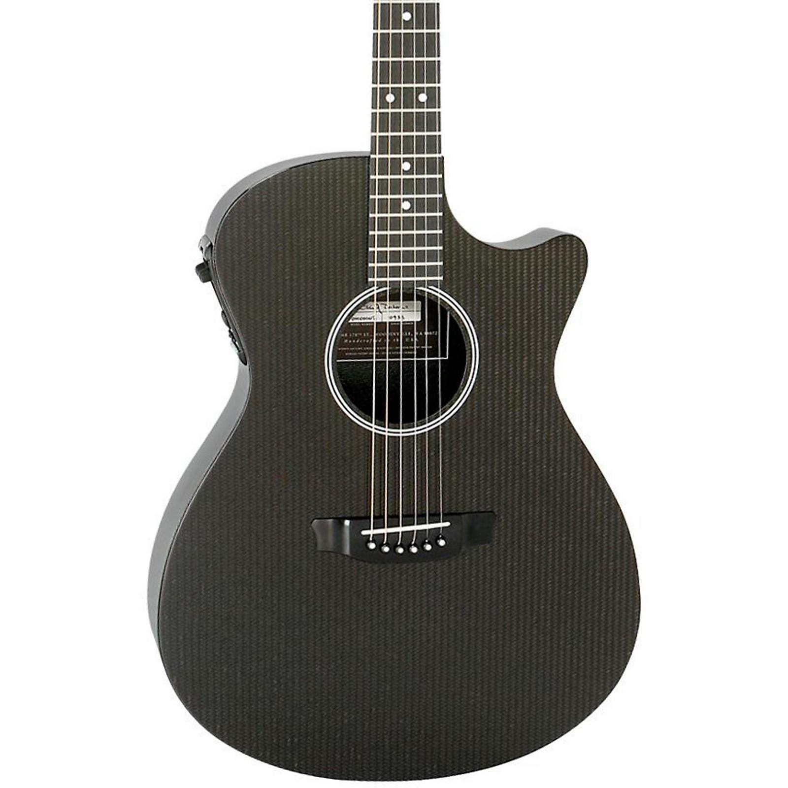 Open Box RainSong Hybrid Series H-OM1000N2 Slim Body Cutaway Acoustic-Electric Guitar
