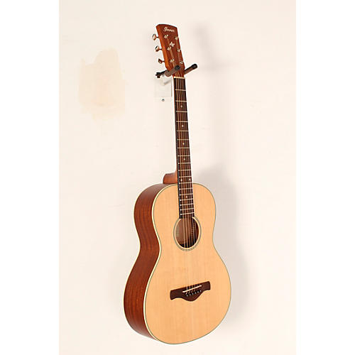 Open Box Ibanez Ibanez AN60LG Solid Top Parlor Acoustic Guitar