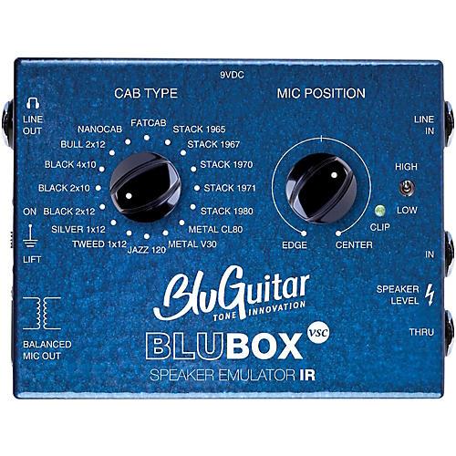 Open Box BluGuitar Impulse Response Speaker Emulator Pedal