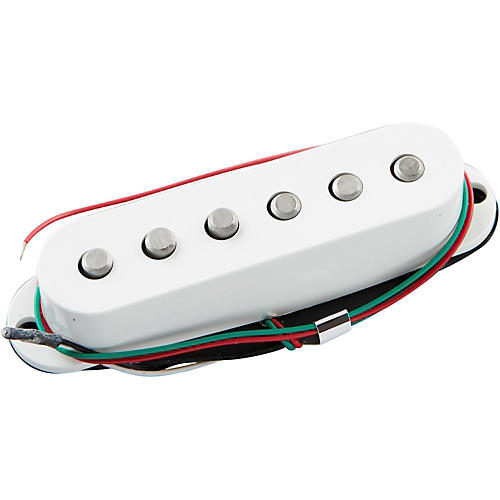 Open Box DiMarzio Injector Bridge White Extra Black Cover
