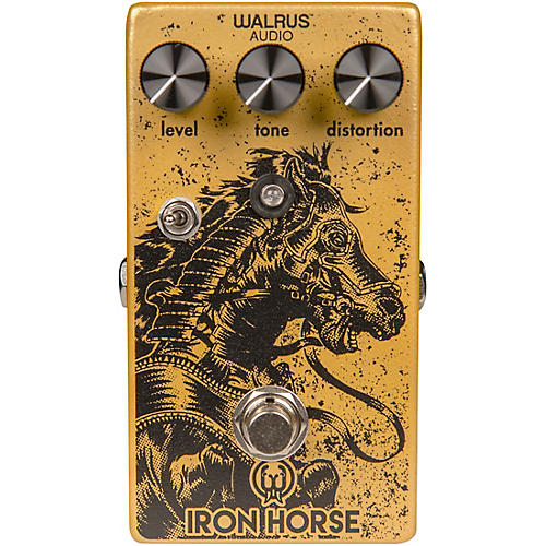 Open Box Walrus Audio Iron Horse V2 Distortion Effects Pedal