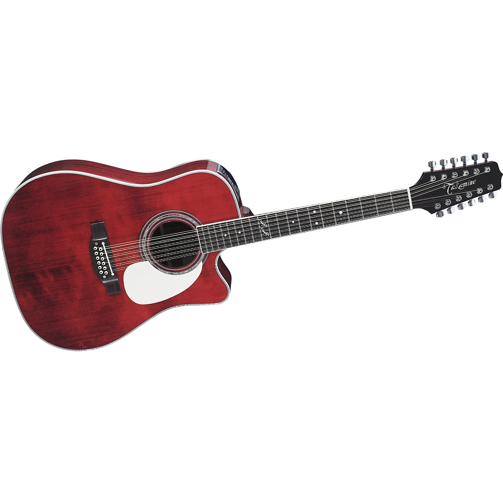 Open Box Takamine JJ325SRC12 John Jorgenson Signature 12-String Acoustic-Electric Guitar