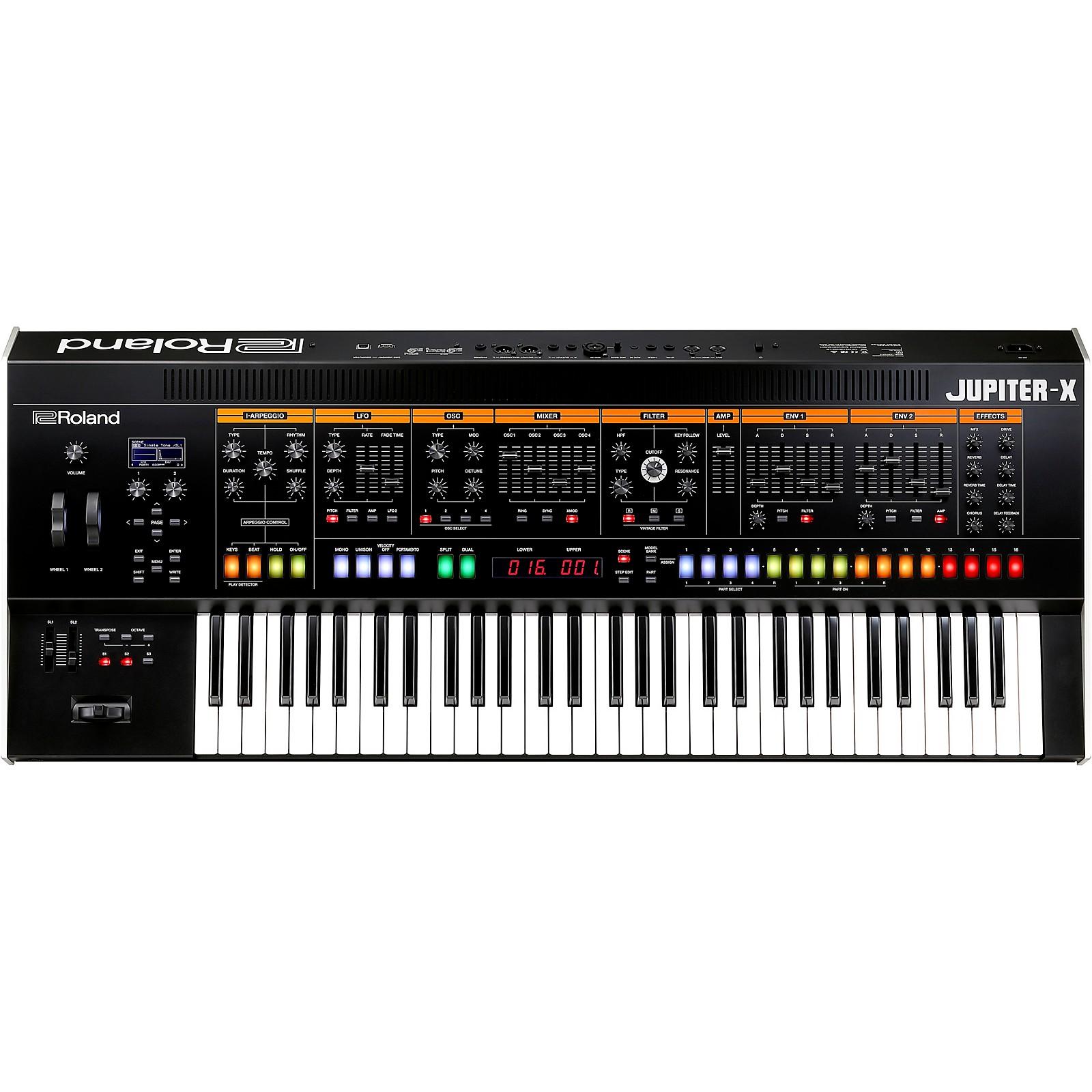 Open Box Roland JUPITER-X Synthesizer
