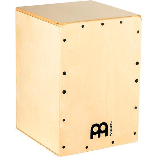 Open Box Meinl Jam Cajon with Almond Birch Frontplate