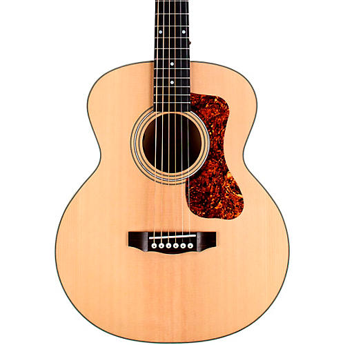 Open Box Guild Jumbo Junior Flamed Maple Acoustic-Electric Guitar with Gig Bag