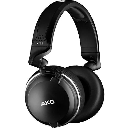 Open Box AKG K182 Professional Closed-Back Monitor Headphones
