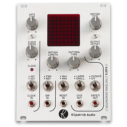 Open Box Kilpatrick Audio K4815 Pattern Generator Eurorack CV and MIDI Pattern Generator