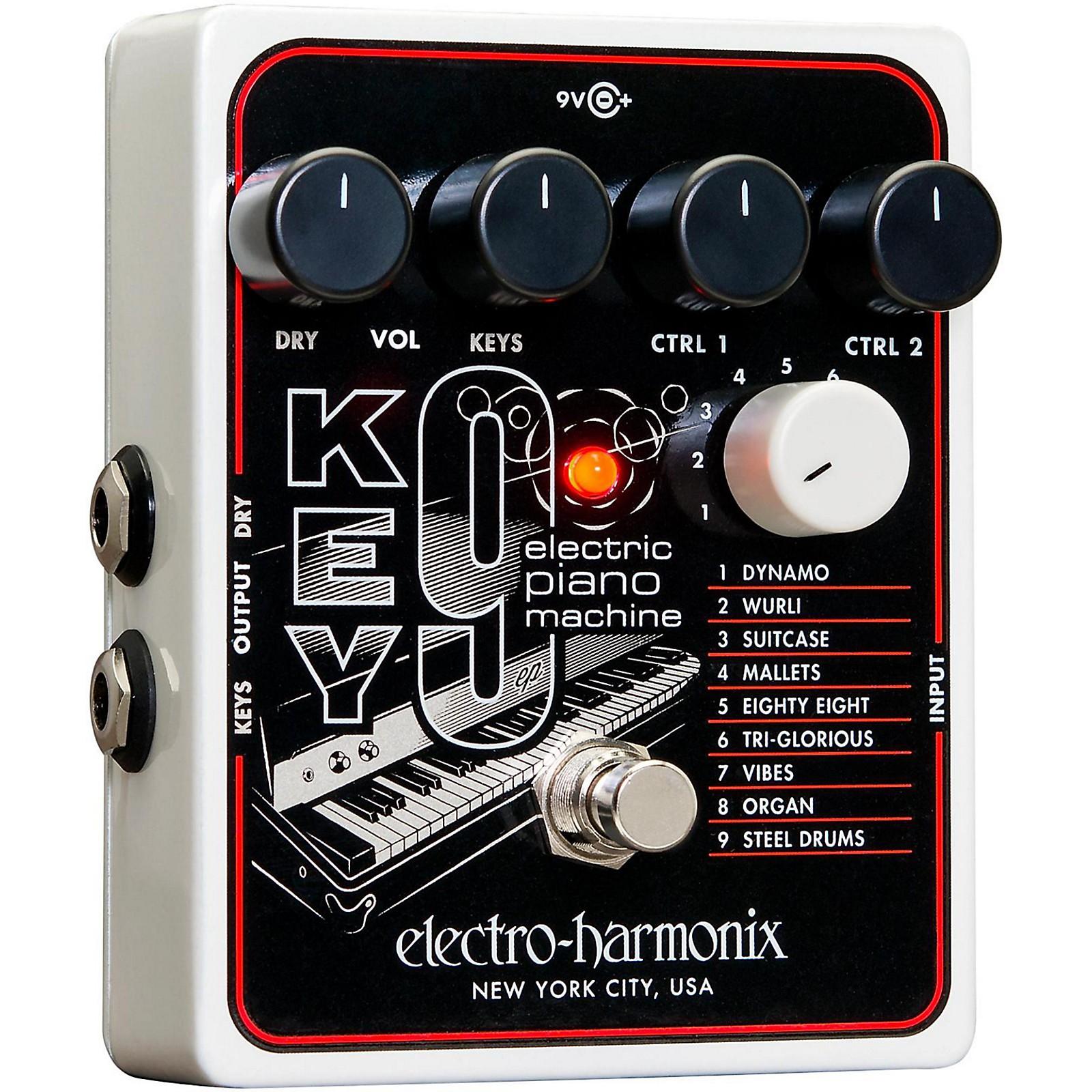 Open Box Electro-Harmonix KEY9 Electric Piano Machine Guitar Pedal