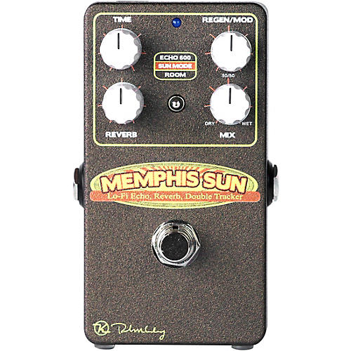 Open Box Keeley KSUN Memphis Sun Lo Fi Delay Reverb Effects Pedal