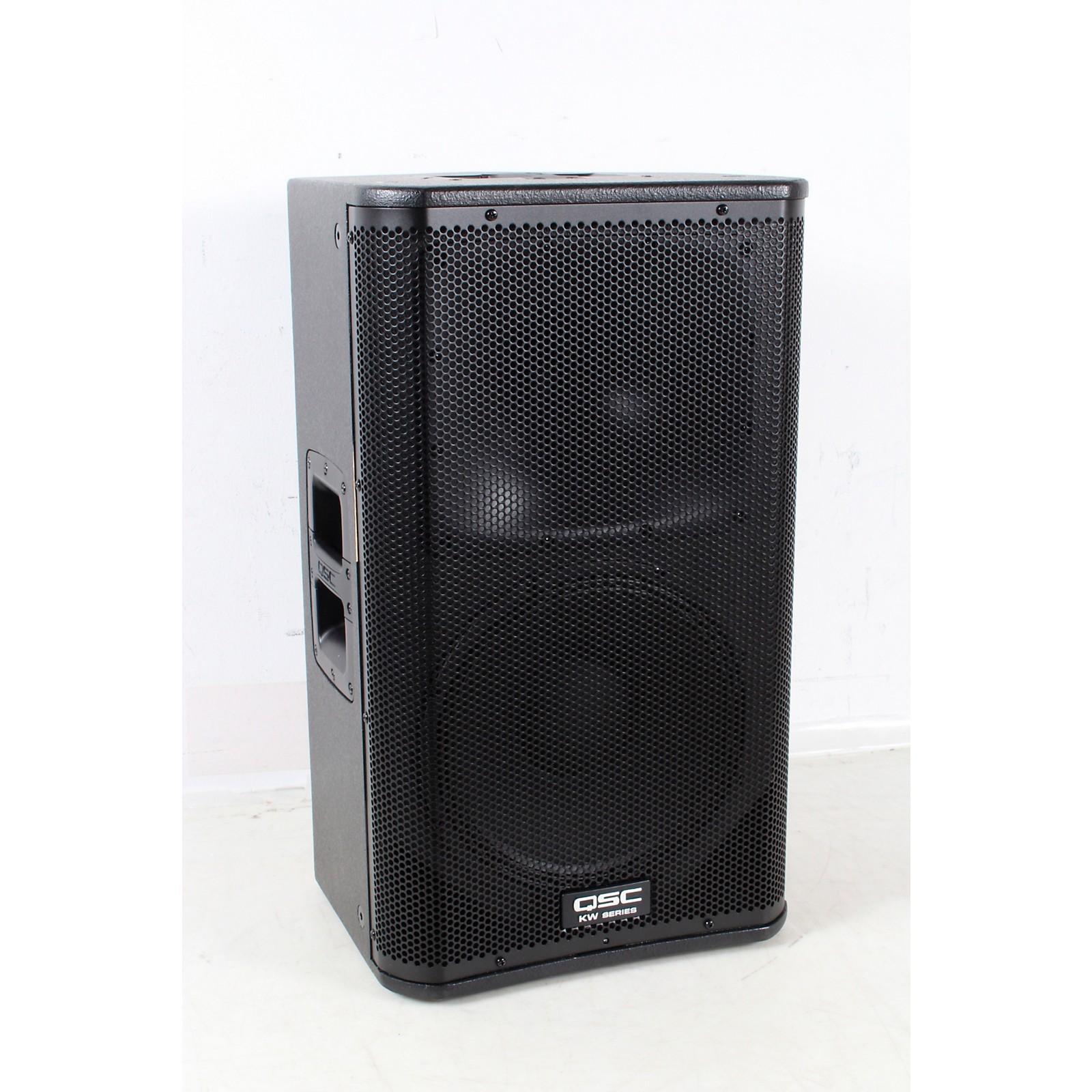 Open Box QSC KW122 Active Loudspeaker 1000 Watt 12 Inch 2 Way