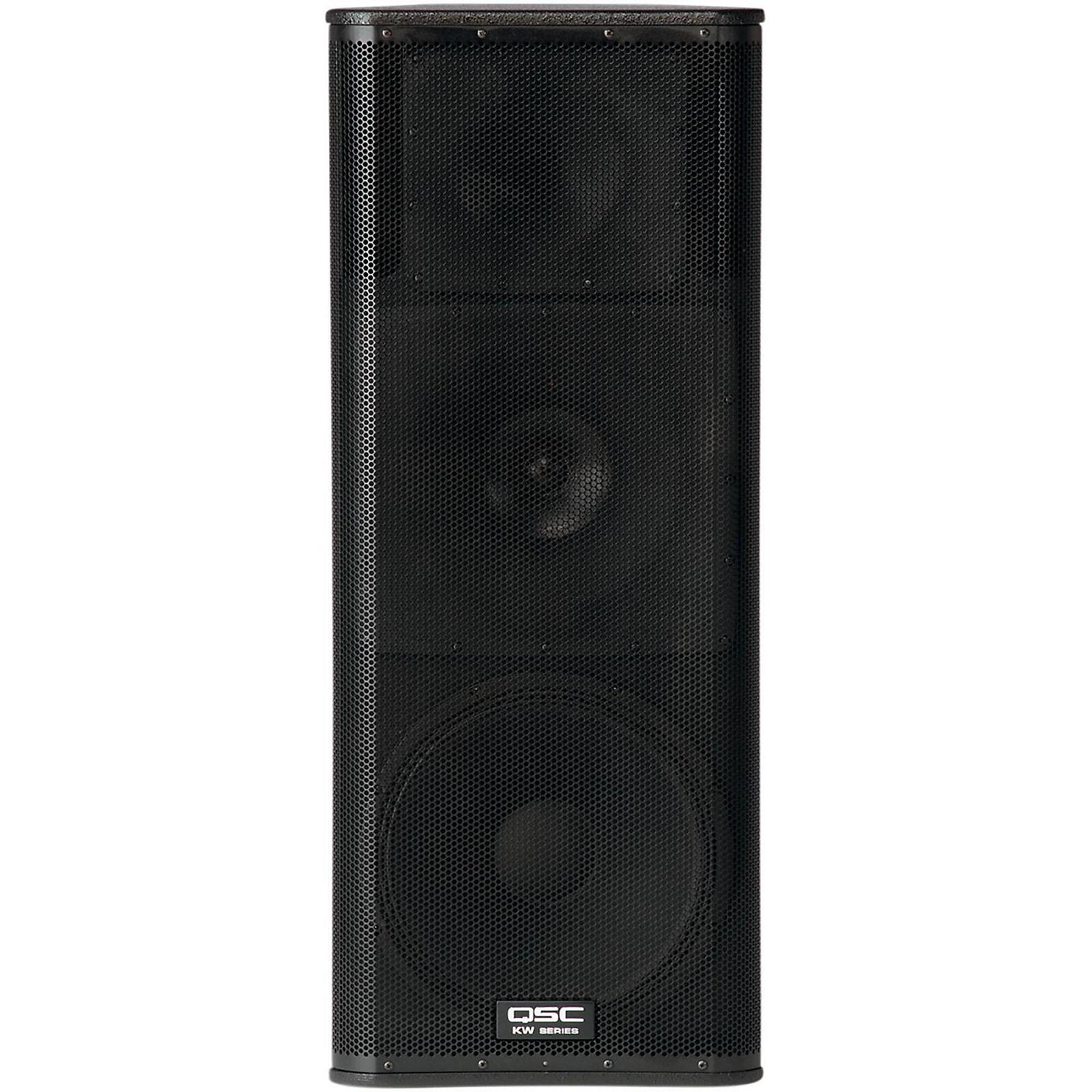 Open Box QSC KW153 Active Loudspeaker 1000w 15