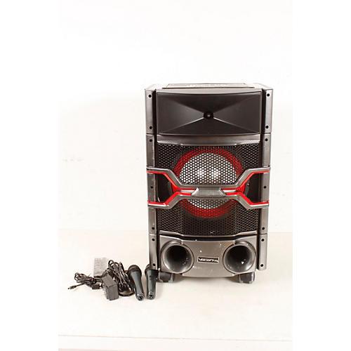 Open Box VocoPro Karaoke Rock-On-Roller DVD Karaoke System with 10