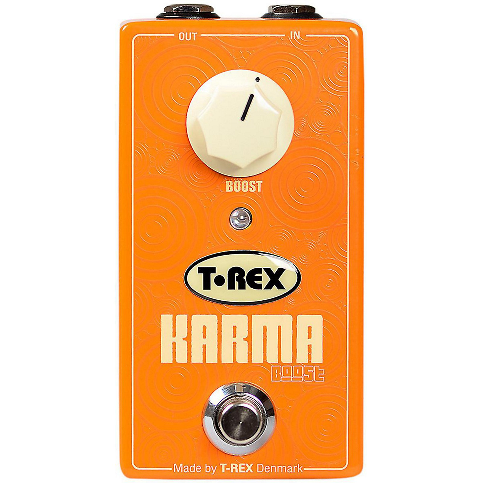 Open Box T-Rex Engineering Karma Clean Boost Guitar Effects Pedal