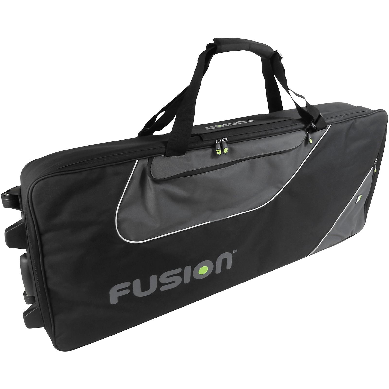 Open Box Fusion Keyboard 16 Gig Bag with Wheels (76-88 Keys)