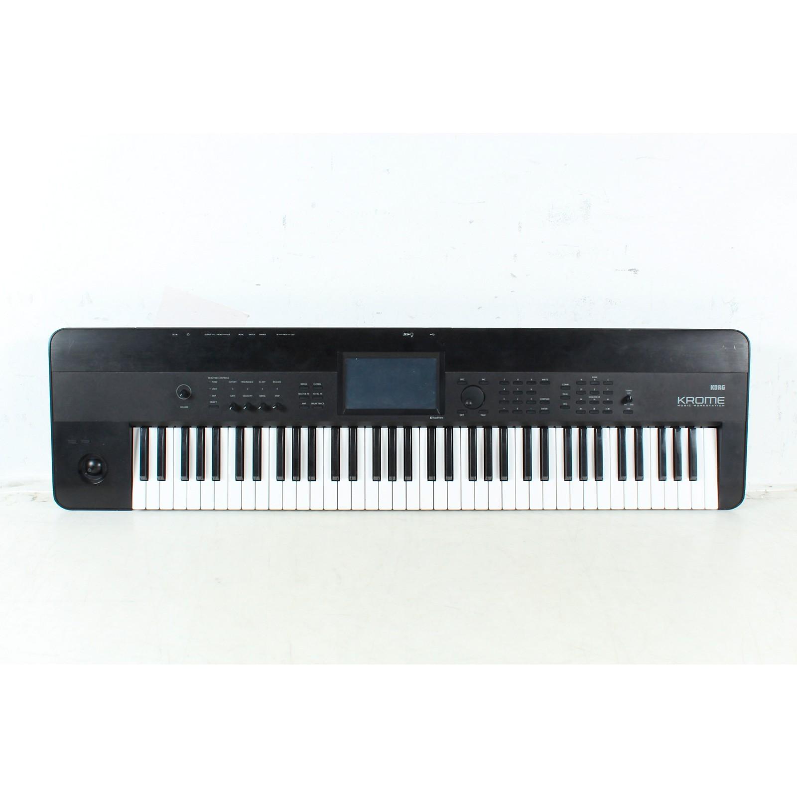 Open Box Korg Krome 73 Keyboard Workstation