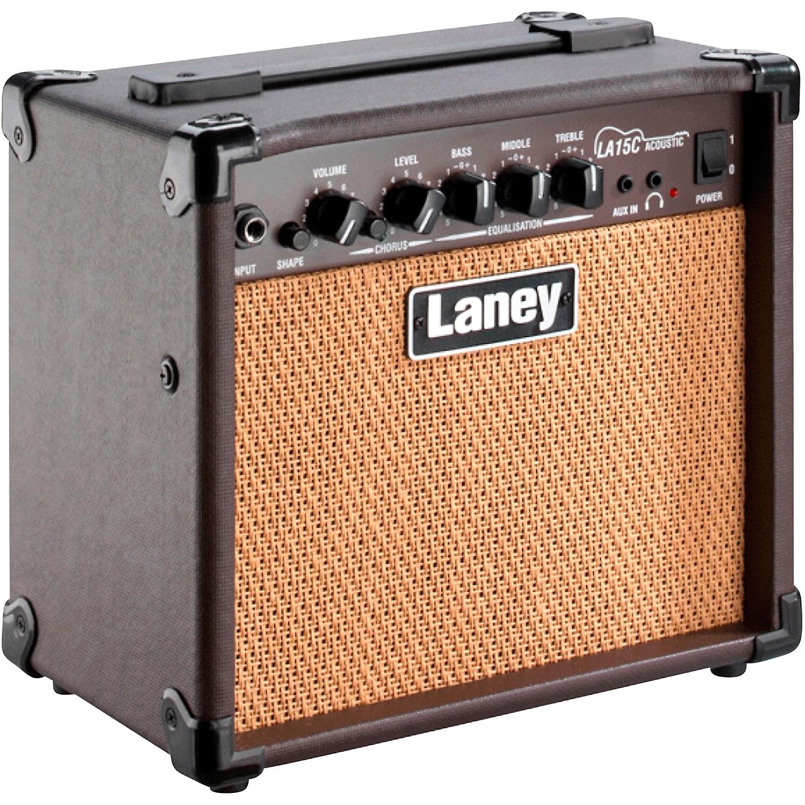 Open Box Laney LA15C 15W 2x5 Acoustic Combo Amp