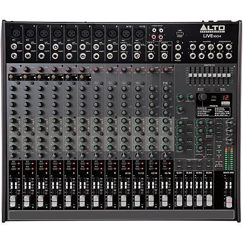 Open Box Alto LIVE 1604 16-Channel 4-Bus Mixer