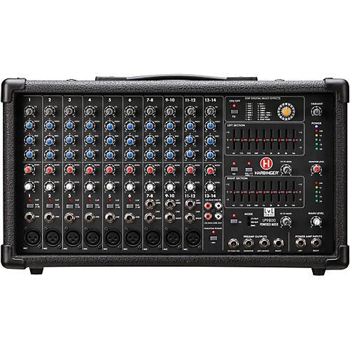 Open Box Harbinger LP9800 Powered Mixer