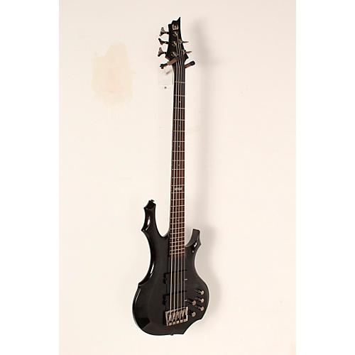 Open Box ESP LTD F-415FM Flame Maple 5-String Electric Bass Guitar