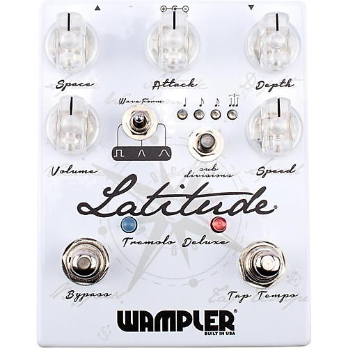 Open Box Wampler Latitude Deluxe Tremolo Pedal
