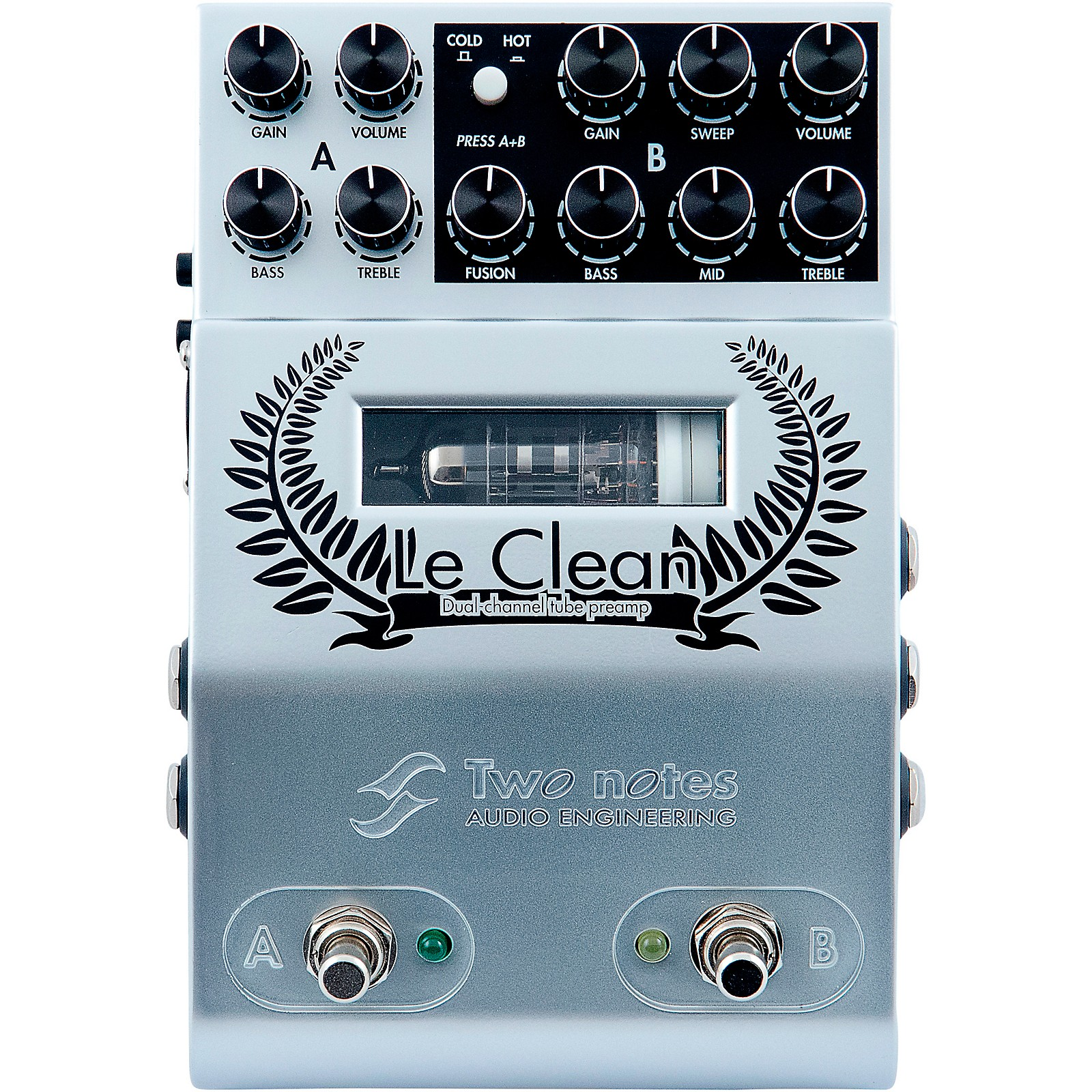 Open Box Two Notes Audio Engineering Le Clean Preamp Effects Pedal