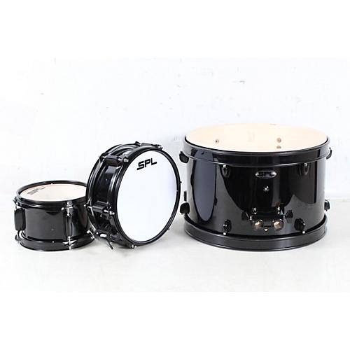Open Box Sound Percussion Labs Lil Kicker - 3 Piece Jr Drum Set with Throne