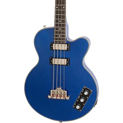 Open Box Epiphone Limited Edition Allen Woody Rumblekat Blue Royale Bass Guitar