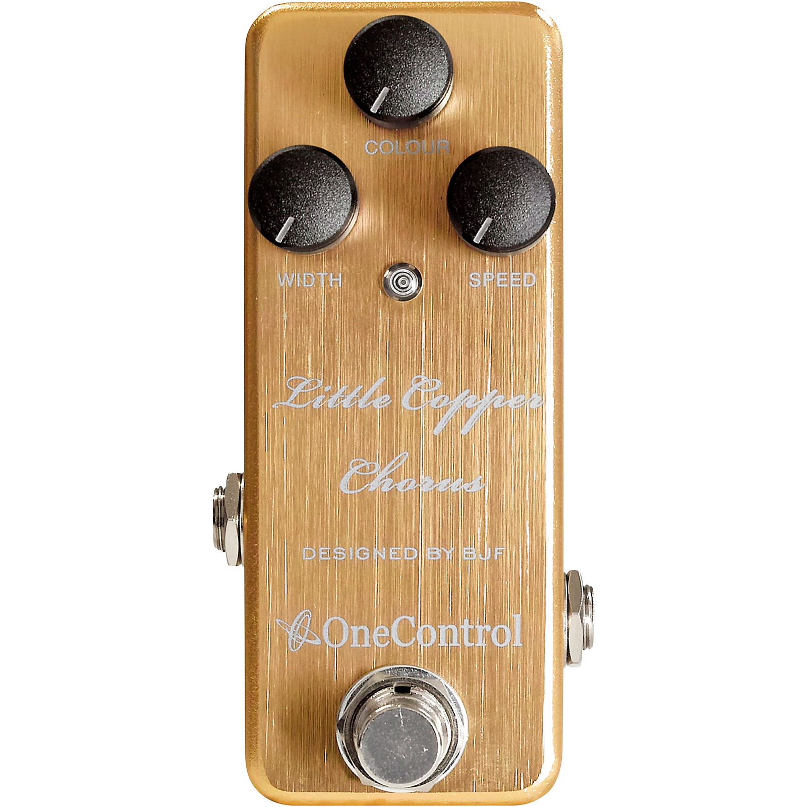 Open Box One Control Little Copper Chorus Effects Pedal