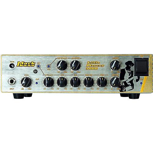Open Box Markbass Little Marcus 1000 Marcus Miller Signature 1,000W Bass Amp Head