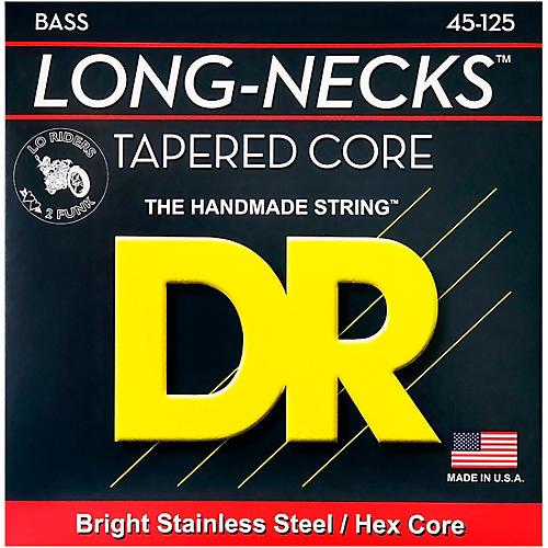 Open Box DR Strings Long Necks Taper Core Medium 5-String Bass Strings