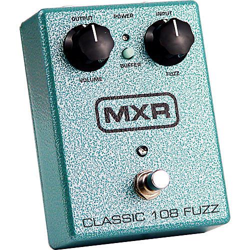 Open Box MXR M-173 Classic 108 Fuzz Guitar Effects Pedal