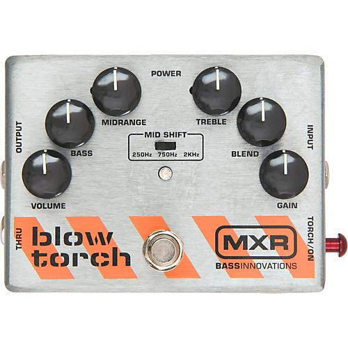 Open Box MXR M-181 Bass Blowtorch Overdrive Distortion Pedal