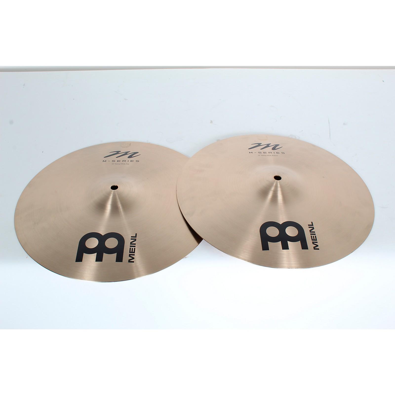 Open Box Meinl M-Series Heavy Hi-Hat Cymbal Pair
