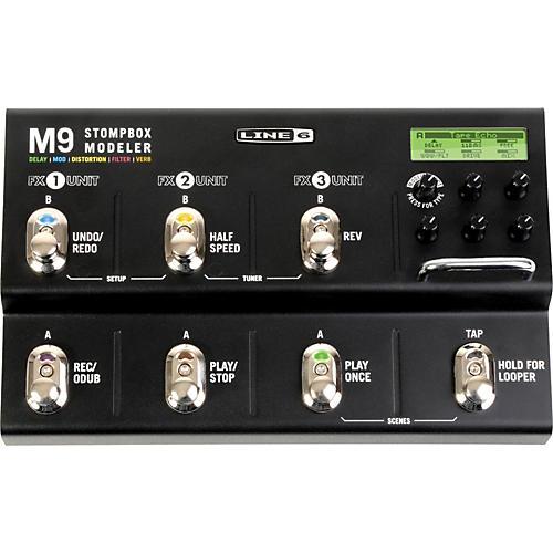 Open Box Line 6 M9 Stompbox Modeler Guitar Multi-Effects Pedal