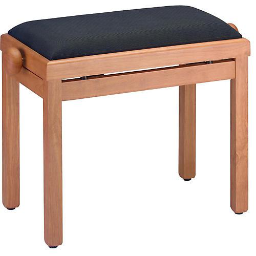 Open Box Stagg MAPLE PIANO BENCH MATT+BLACK VELVET TOP