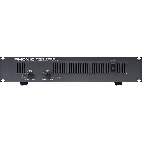 Open Box Phonic MAX 1000 Power Amplifier