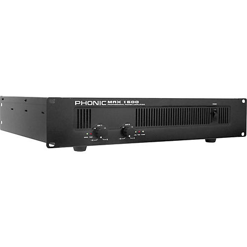 Open Box Phonic MAX 1600 Power Amplifier