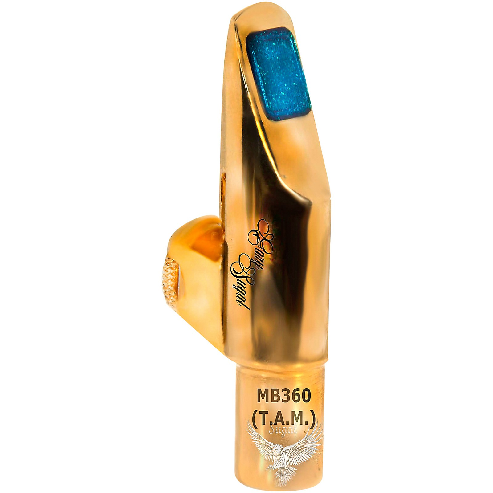 Open Box Sugal MB 360 TAM 18 KT HGE Gold Plated Tenor Saxophone Mouthpiece