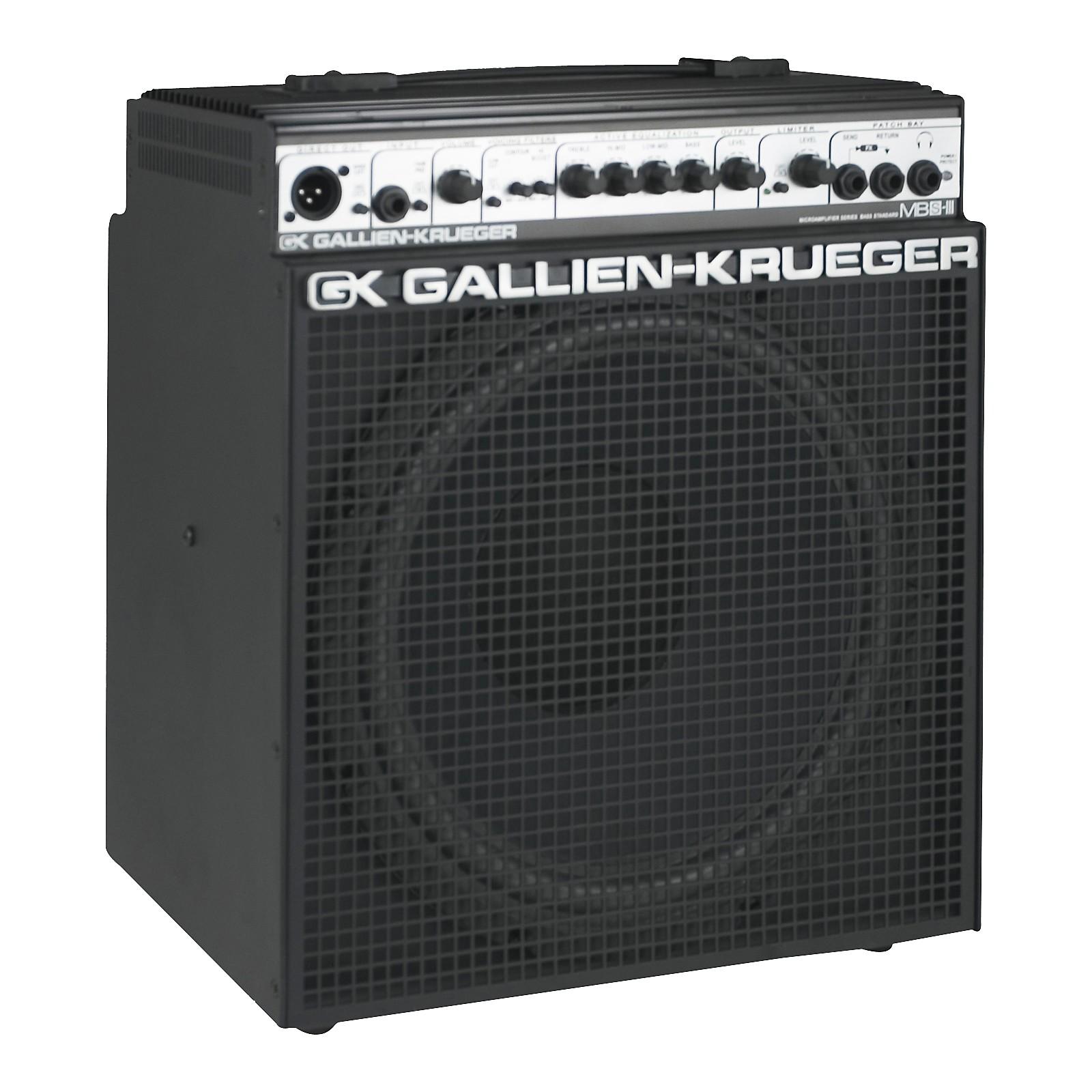 Open Box Gallien-Krueger MB150S-112III 150W MicroBass Combo Amp
