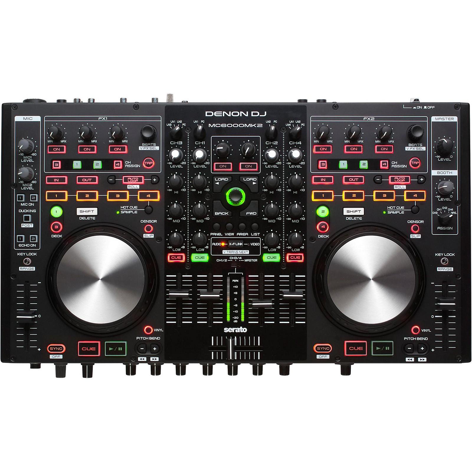 Open Box Denon MC6000Mk2 Professional Digital Mixer & Controller